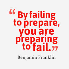 fail to prepare